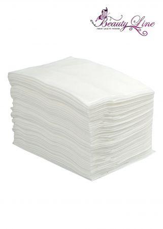 Полотенца одноразовые белые 35/70 - плотность 60 - 50 штук
