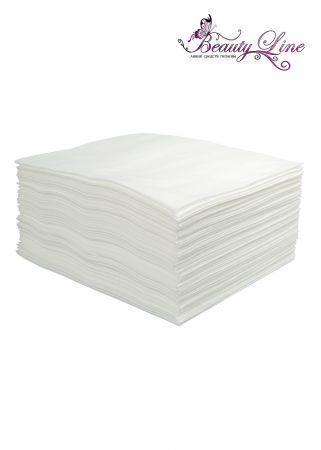 Полотенца одноразовые белые 45/90 - плотность 60 - 50 штук