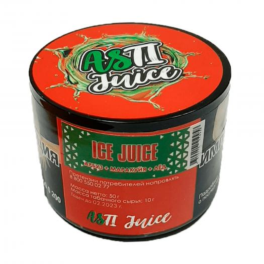 Табак Asti Juice Арбуз Маракуйя Лед