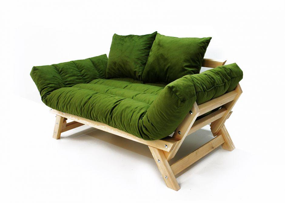 Диван Амбер зеленый