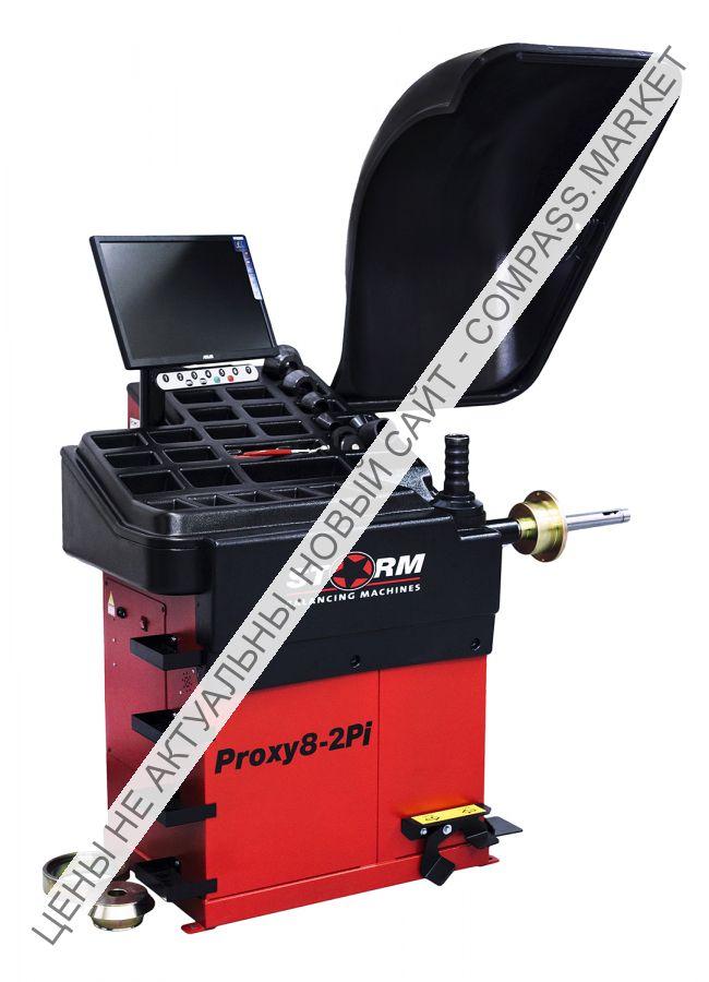 Суперавтоматический стенд балансировки и виброконтроля колес Proxy8-2pi