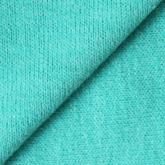 Лоскут трикотажной ткани Бирюзовый Ангора 50х30 см