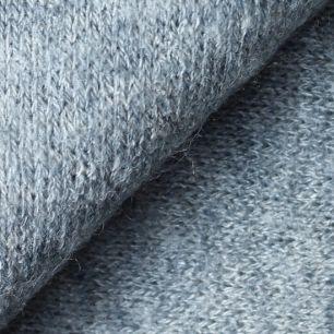 Лоскут трикотажной ткани Серый Ангора 50х30 см