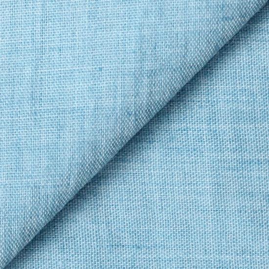 Ткань Однотонный голубой - хлопок 50*37 см