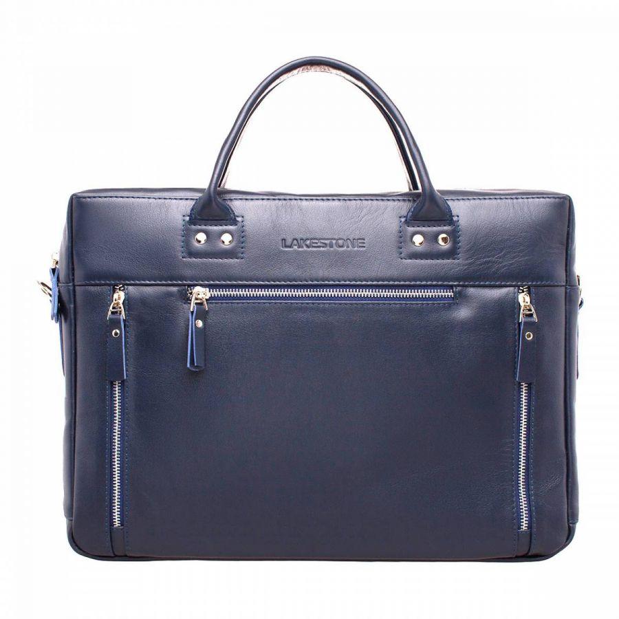 Мужская деловая сумка Lakestone Barossa Dark Blue