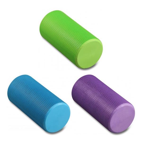 Ролик массажный для йоги INDIGO Foam roll IN045 15x30см