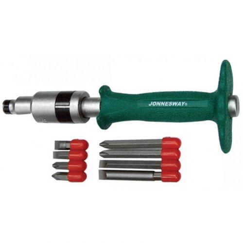 AG010139 Набор ударных отверток SL 8, 10 (36, 80 мм), PH# 2, 3 (36, 80 мм), 5 предметов