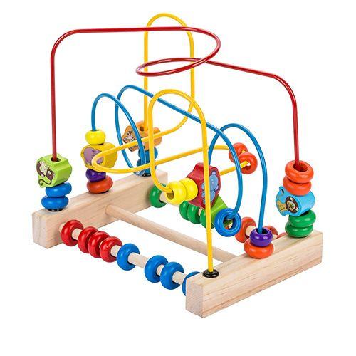Развивающая игрушка Animal Beads around