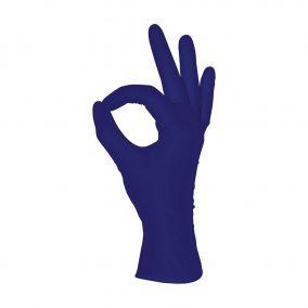 Перчатки нитриловые MediOK, фиолетовый, размер XS,S,M,L- 50 пар