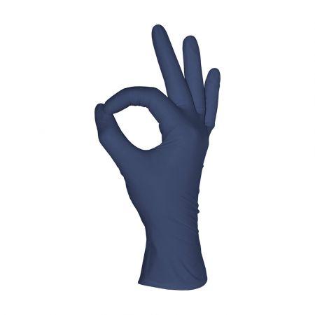 Перчатки нитриловые MediOK, черничные, размер XS,S,M,L- 50 пар