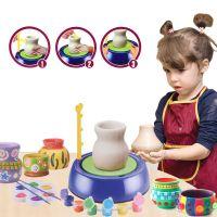 Детский гончарный круг Pottery Wheel (цвет синий)_1