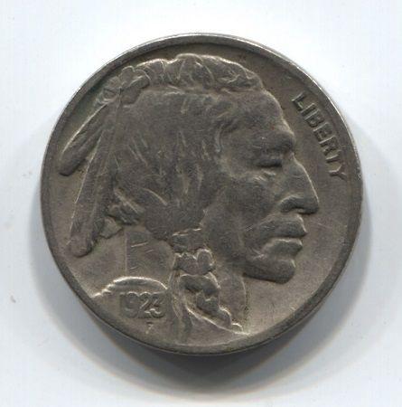 5 центов 1923 года США
