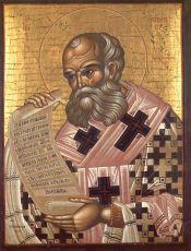 Икона Афанасий Александрийский святитель