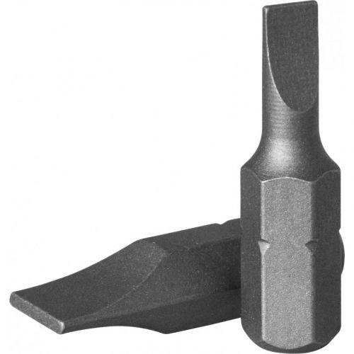 """D125F5008A Бита 1/4"""" шлиц 0,8 х 5,0 мм, 25 мм, S2 материал"""