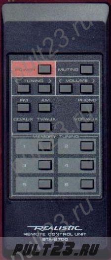 REALISTIC STA-2700