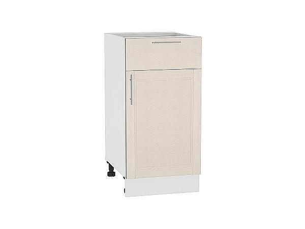 Шкаф нижний Сканди Н401 Cappuccino Softwood