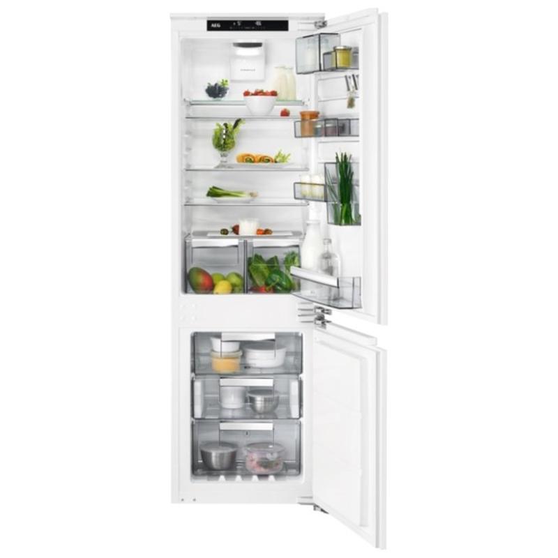 Встраиваемый двухкамерный холодильник AEG SCR 81864 TC