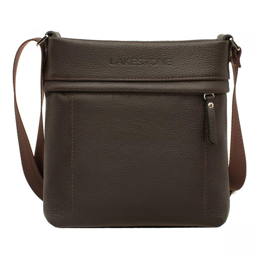 Мужская сумка через плечо Lakestone Homefield Brown