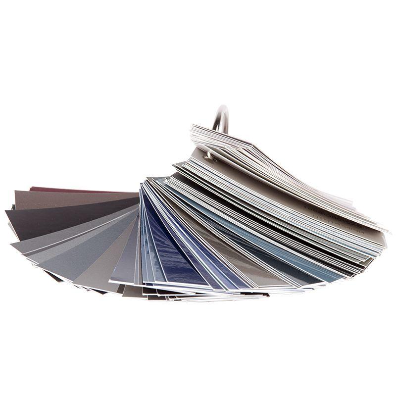 Auton Палитра-веер для эмалей с металлическим эффектом