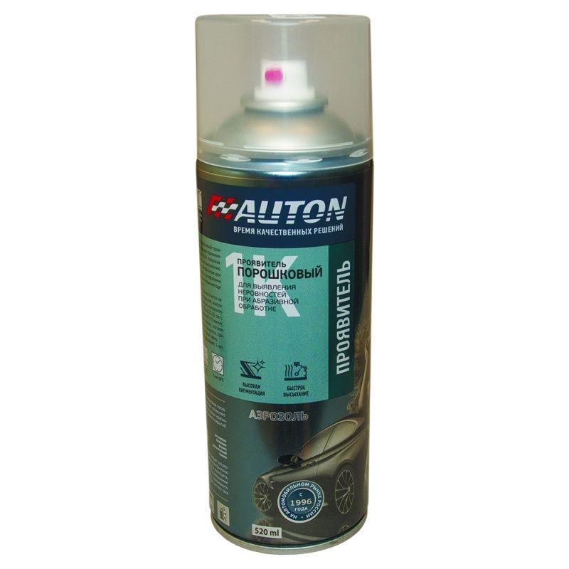 """Auton Проявитель порошковый, название цвета """"Черный"""", в аэрозольном баллоне, объем 520мл."""