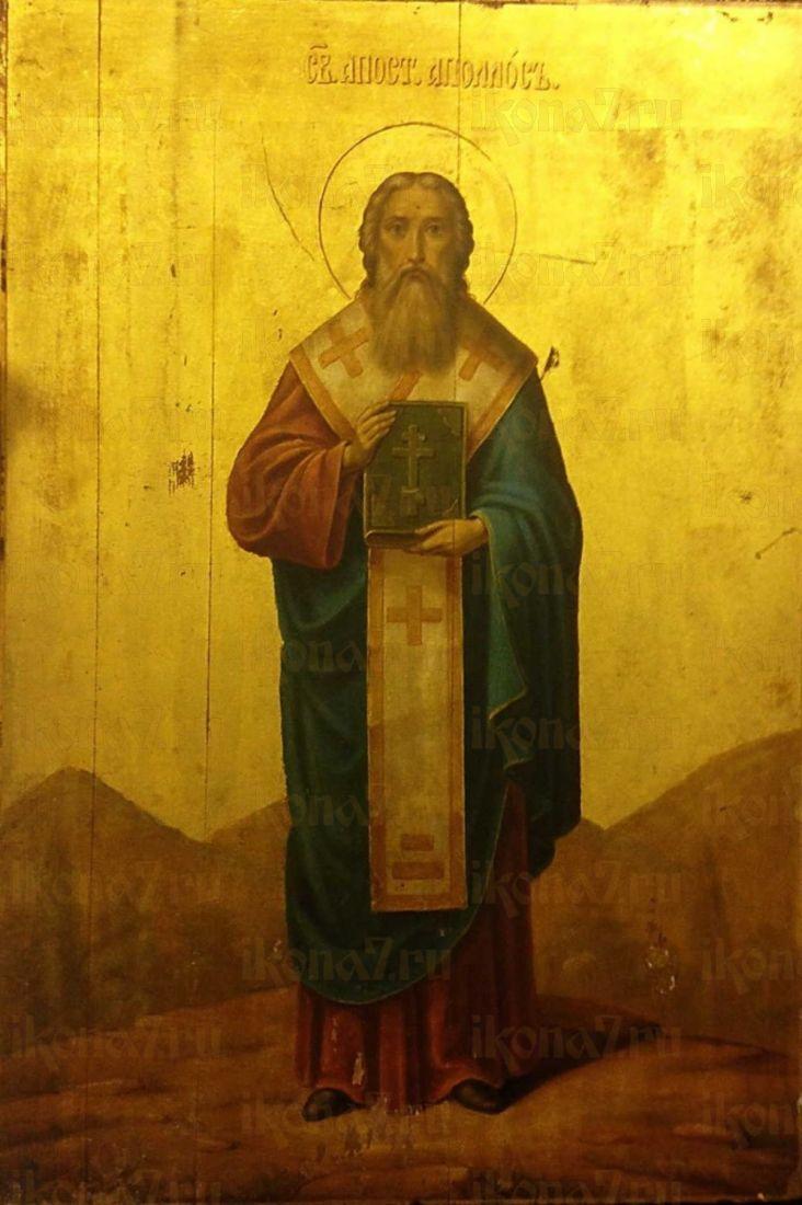 Икона Аполлос Александриец апостол