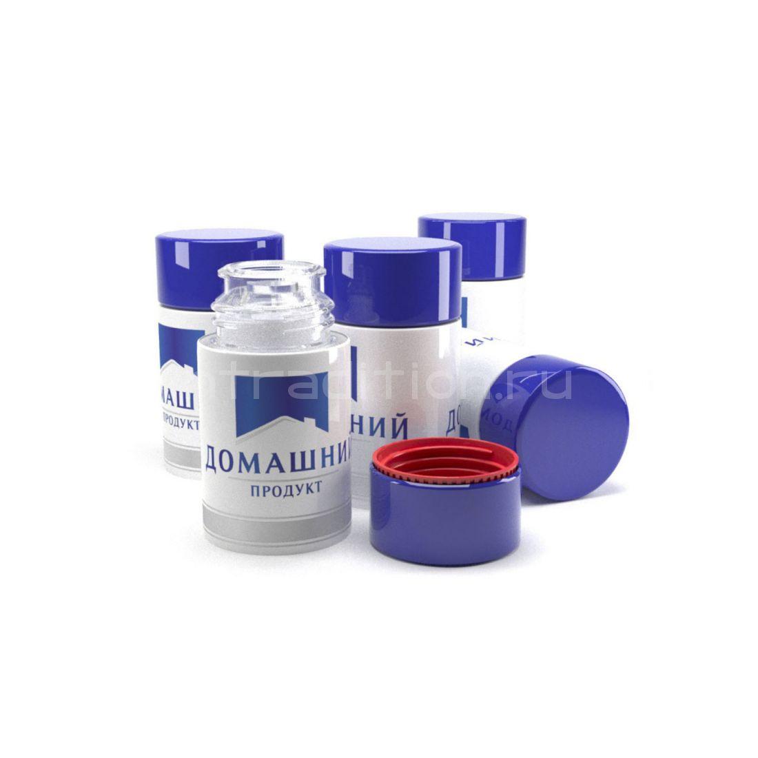 Колпачок с дозатором Домашний продукт синий (Гуала 47 мм) / 10 шт