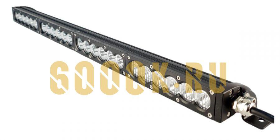 Однорядная светодиодная LED балка 120W CREE с переключением ближнего и дальнего света