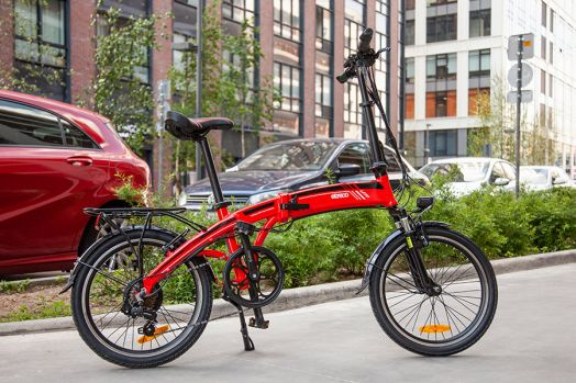 Велогибрид Eltreco LETO Красный