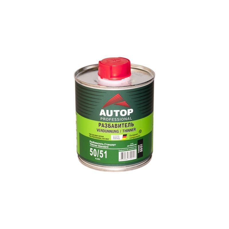 Autop Tinner Standart 50/51 Разбавитель стандартный, акриловый, уп. 250мл.