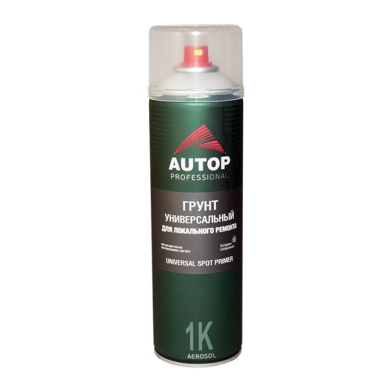 """Autop Грунт универсальный для локального ремонта №13, название цвета """"Серый"""", в аэрозольном баллоне, объем 650мл."""