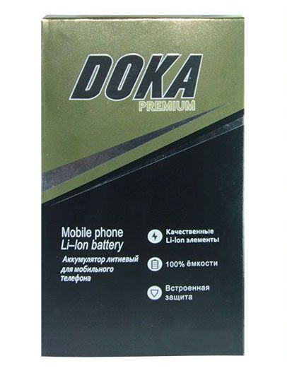 Аккумулятор Doka Apple iPhone 5C/iPhone 5S (1560 mAh)