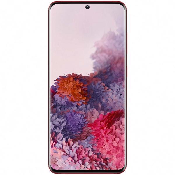 """Samsung Galaxy S20, 6.2"""", 128 ГБ (красный)"""