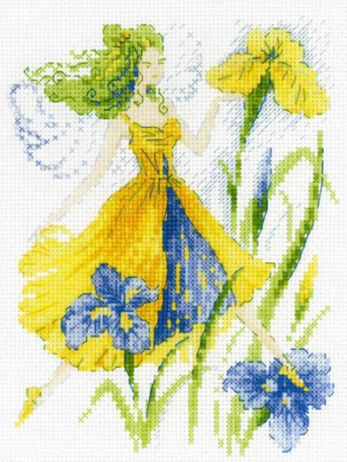 Набор для вышивания крестом Фея солнечного дня №1563 фирма Риолис