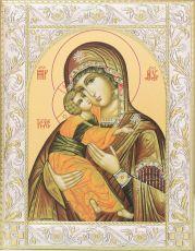 Владимирская икона Божией Матери 14х18 см