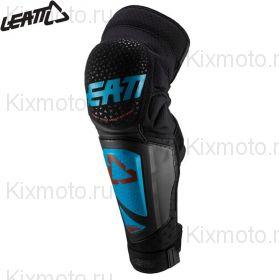 Наколенники Leatt 3DF Hybrid EXT, Сине-черный
