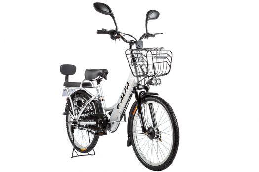 Велогибрид Eltreco e-ALFA Белый