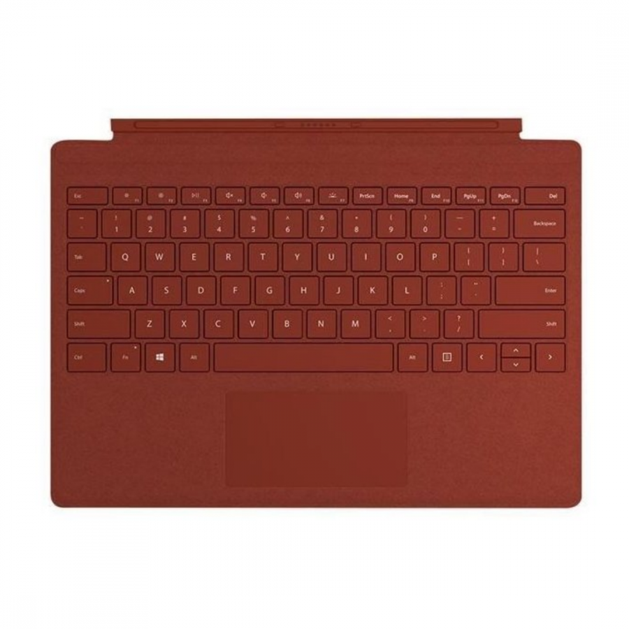 Клавиатура Microsoft Surface Pro signature type cover Alcantara (Poppy Red)