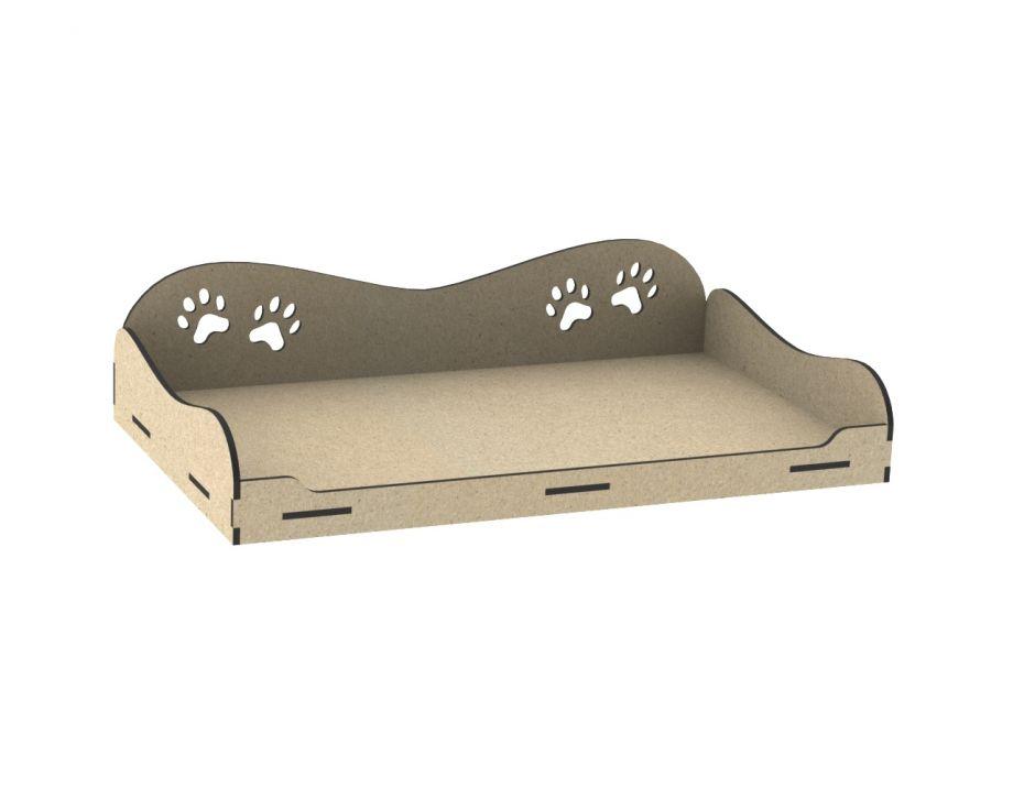 Лежанка для собак открытая