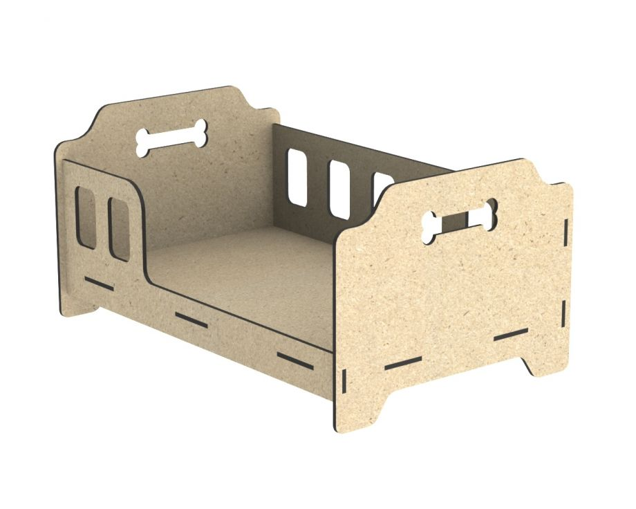 Лежанка для собак кроватка с бортиками