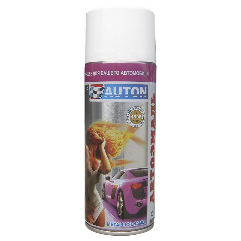 """Auton Автоэмаль """"Металлик"""", название цвета """"419 опал"""", в аэрозольном баллоне, объем 520мл."""