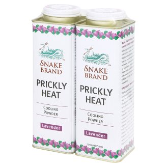Тальк для тела с лавандой Освежающий Snake Brand 300 гр