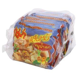 Суп-лапша быстрого приготовления Острая в брикете Mama 6 шт по 55 гр