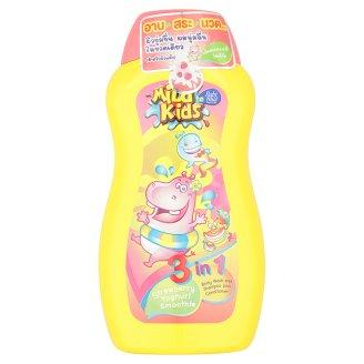 Средство 3 в 1 для детской гигиены Клубника и Йогурт Mild Kids 200 мл