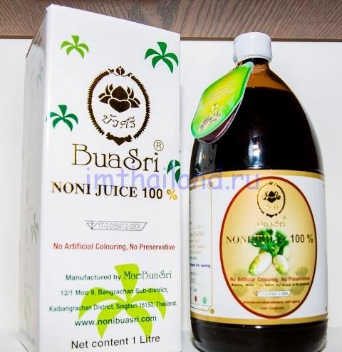 Сок Нони BuaSri - 1 литр