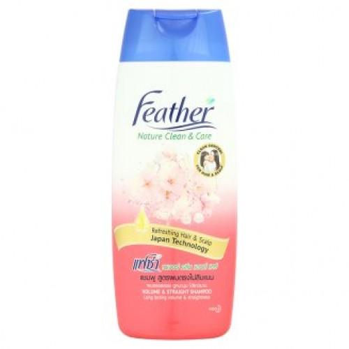 Шампунь для объема волос с экстрактом сакуры Feather 170 мл