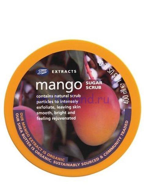 Сахарный скраб для тела Boots Манго 200 мл