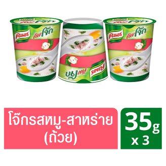 Рисовый суп Кхао Том со свининой и нори Knorr 3 шт по 35 гр