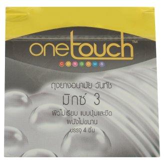 Презервативы Ребристые One Touch 3 шт