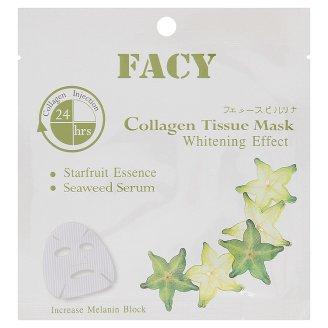 Отбеливающая тканевая маска для лица с коллагеном Facy 21 мл