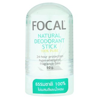 Focal Natural Deodorant Stick - Дезодорант Кристал без отдушек 60 гр